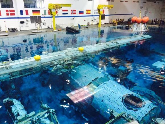 Centro treinamento NASA