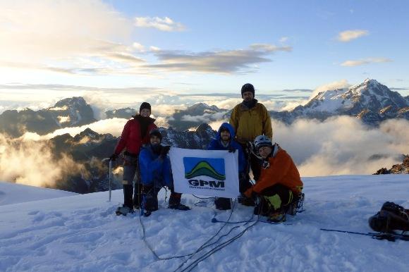 Cume do Cerro Tarija, 5.200mts. (Paty, Vandeira,Marcelo Barreto, Alan e Reston)
