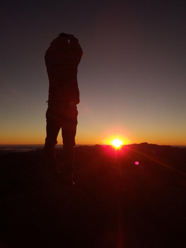 Gabriel e o nascer do sol