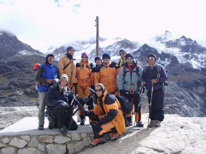 Anorak Andes no Huayna Potosi