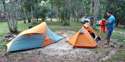 Camping pousada Canto da Vida