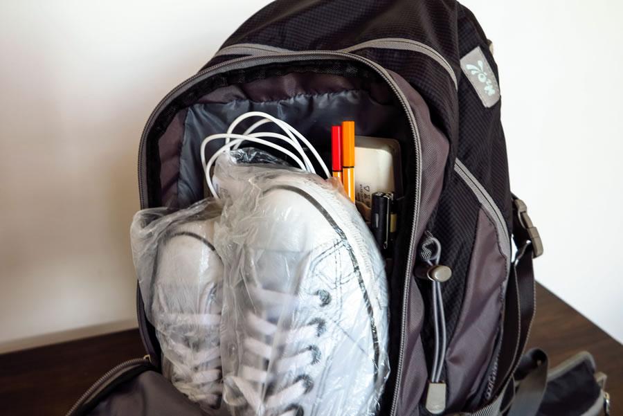 Divisões da mochila