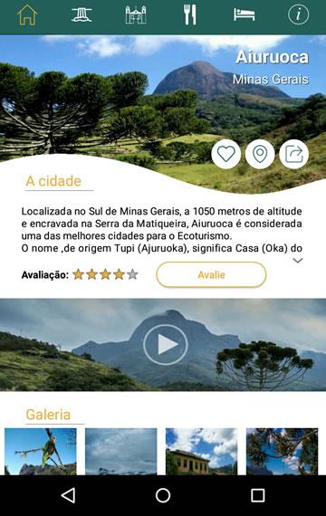 App Cachoeiras