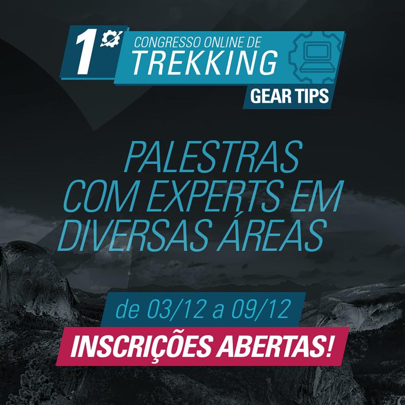 Congresso Online de Trekking Gear Tips