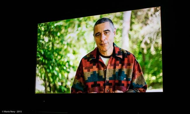 Guilherme Cavallari em uma cena do filme Transpatagônia