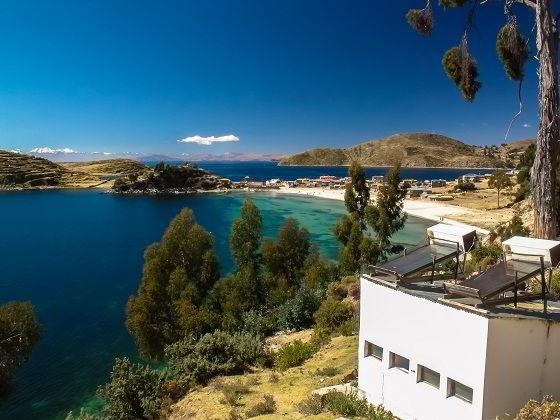 ilha do sol lago Titicaca
