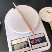 Escova de bambu super leve