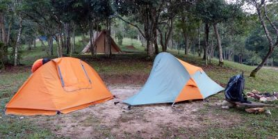 Barracas de camping pequenas