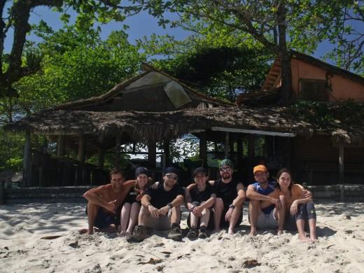 Praia do Sono restaurante Raiz Caiçara