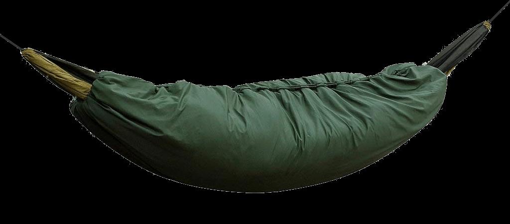 Under quilt fechado em cima