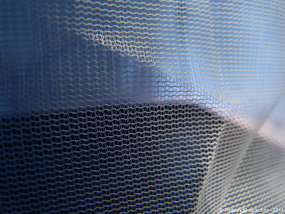 Tela anti-mosquito barrraca